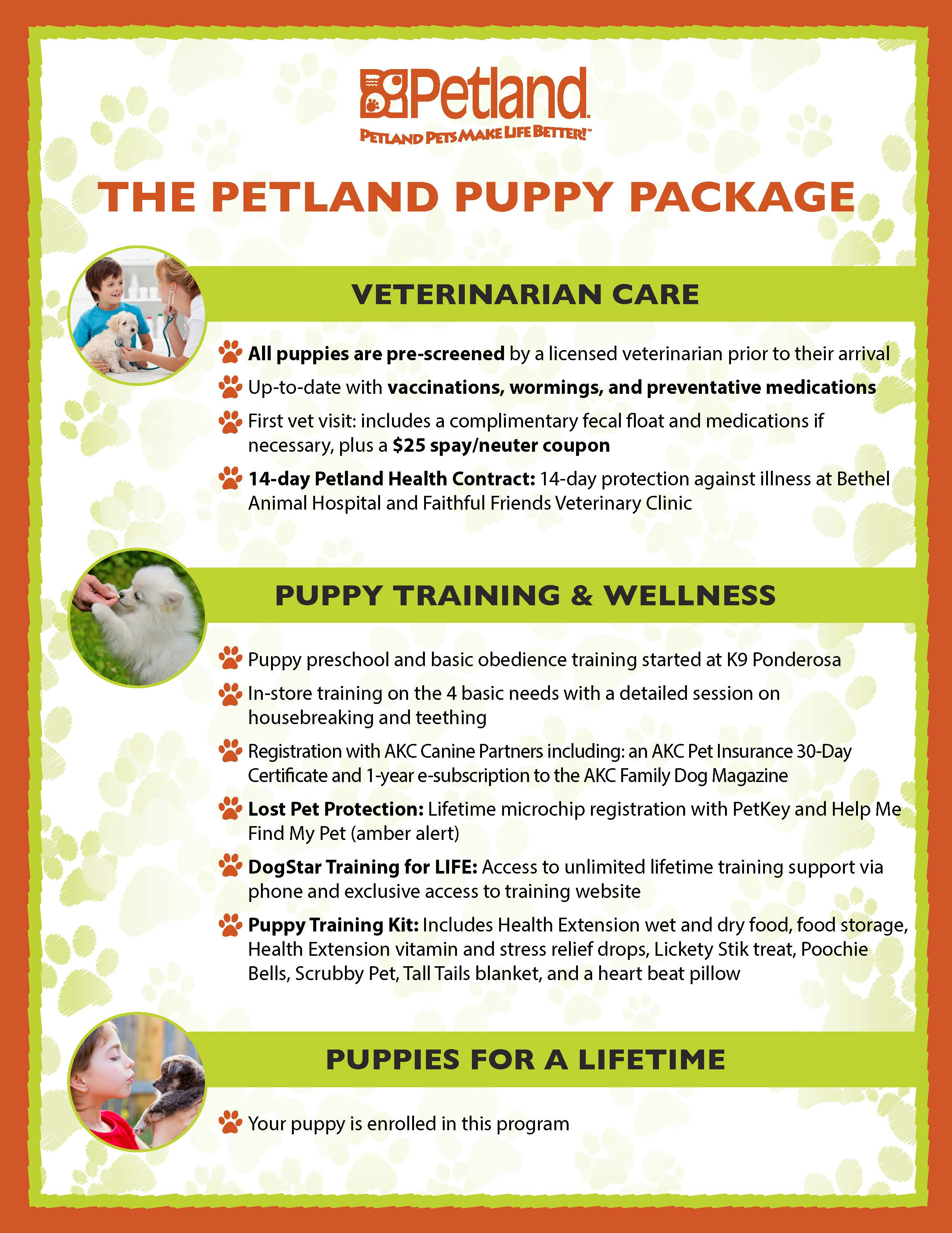 Puppy Packages - Petland Carriage Place Columbus, Ohio